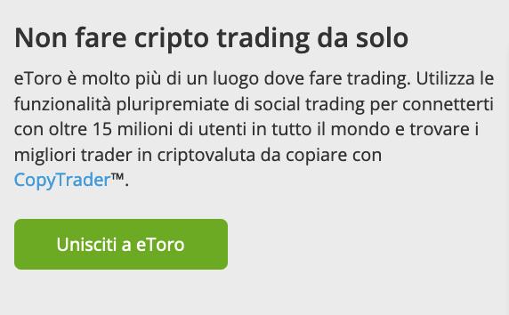 eToro Crypto